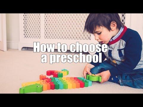 How to Choose a Preschool (Nursery)