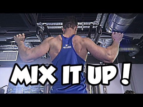 Alternative Back Workout: MIX THINGS UP!