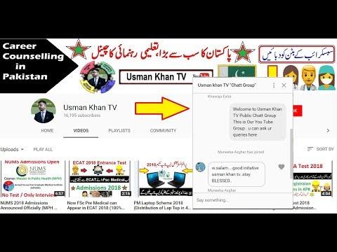 Join Usman Khan TV