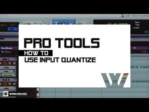 Pro Tools: Input Quantize | WinkSound