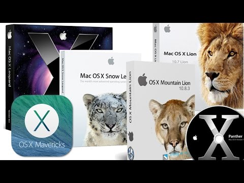 Make Bootable USB flash drive for Tiger, Leopard, Lion, Mountain Lion, Mavericks OS X