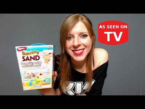 As Seen On TV | Squishy Sand | Does This Thing Really Work?