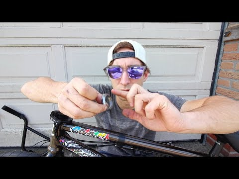How to install an integrated BMX headset
