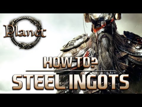 Elder Scrolls Online (ESO) - How to Make Steel Ingots (Guide/Tutorial)
