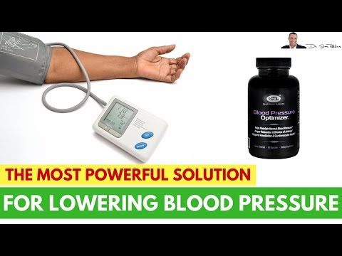 🌡The Most Powerful Solution For Lowering Blood Pressure, Naturally