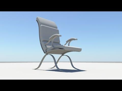 maya modelling making of Chair