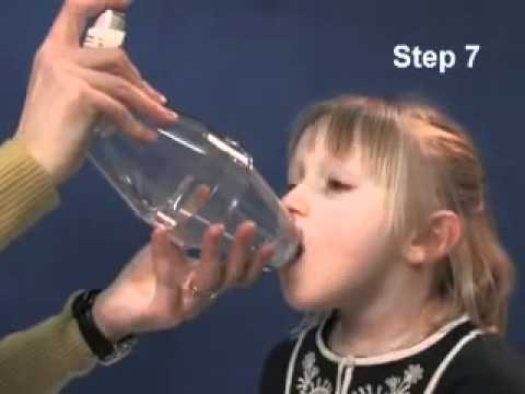 How to help your child use an inhaler with spacer device   YouTube2
