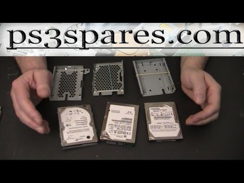PS3 Hard Drives & Caddies | What is the difference?