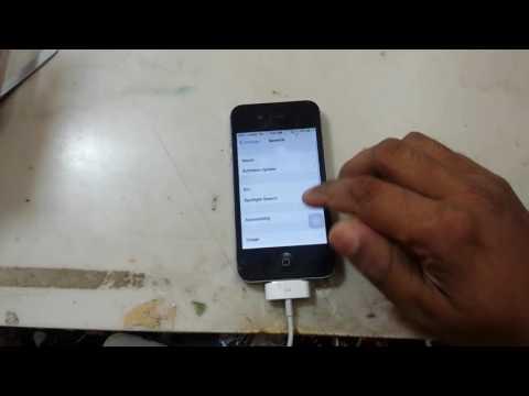 All iPhone iPad iPod Turn Off VoiceOver/Talkback service.