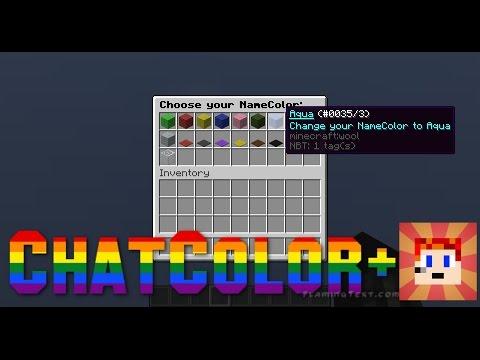 Minecraft Plugin | ChatColor +