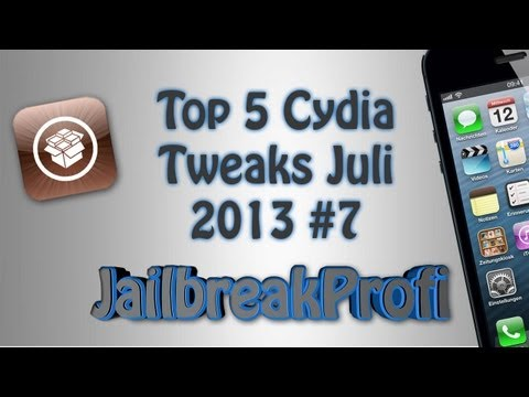 Top 5 Cydia Tweaks Juli 2013 #7