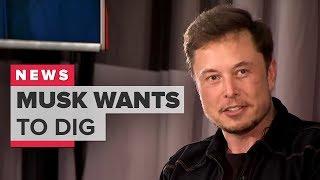 Elon Musk's Boring Company wants to dig under LA (CNET News)