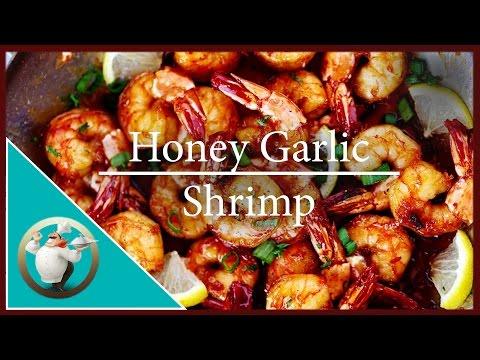 How to make Honey Garlic Shrimp | Easy Garlic Shrimp Recipe