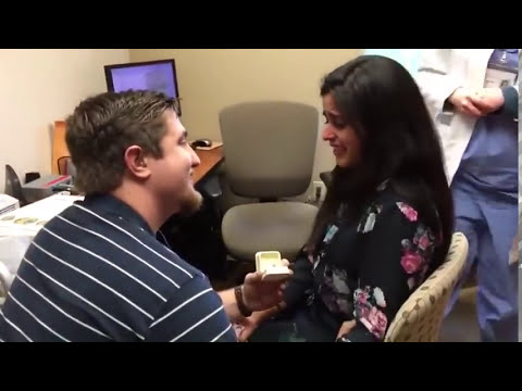 Woman Receives Cochlear Implant and Marriage Proposal