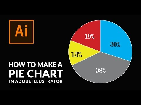 How To Create A Pie Chart in Illustrator