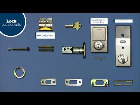 Schlage Sense™ Smart Deadbolt Installation Guide