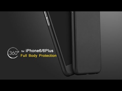 IPAKY 360 DEGREE HYBRID FRONT BACK COVER CASE FOR APPLE IPHONE 6S/6/6PLUS/6SPLUS||UNBOXING||REVIEW||