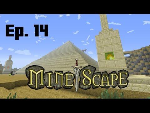The Hunt for a Pyramid, Desert Treasure - Minescape 14