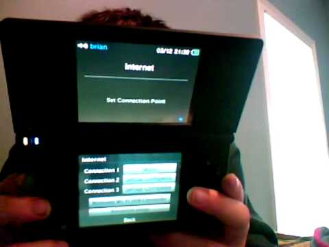 how to get the internet on dsi