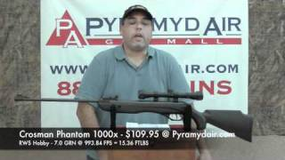 Crosman Optimus  22 Airgun Review / Pellet gun Review Videos