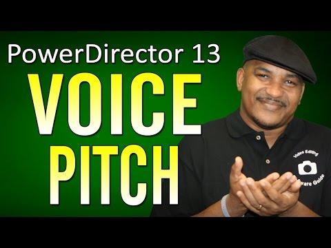CyberLink PowerDirector 13 Ultimate | Voice Pitch Tutorial