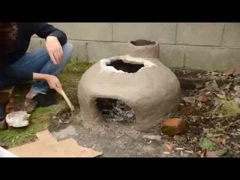 Cob Oven - Time Lapse
