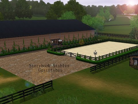 Sims 3 Pferde/Horses   Let's Build Storybook Stables #7