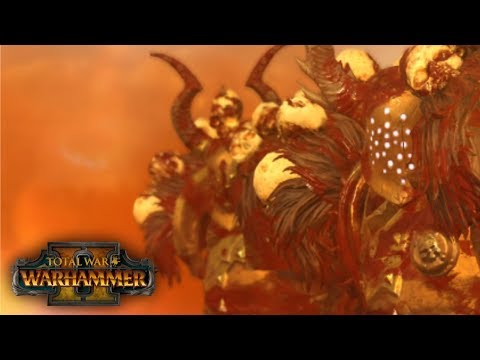 KEEP ASPIRING   Warriors of Chaos vs High Elves - Total War: Warhammer 2 Online Battle 17