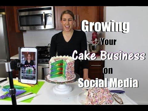 Growing Your Cake Business on Social Media | CHELSWEETS