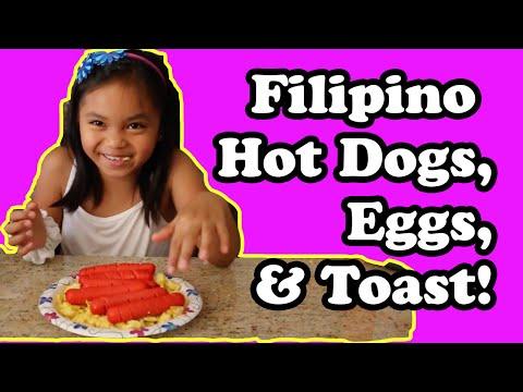 Zakia & Tita: FILIPINO HOT DOGS, EGGS & TOAST!