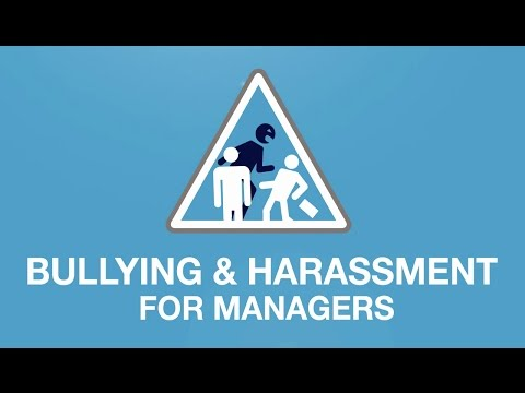 Bullying & Harassment at Work - Course for Management