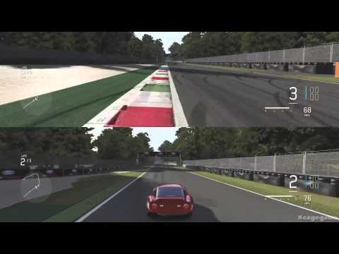Forza Motorsport 6 - Split Screen Multiplayer Gameplay [ HD ]