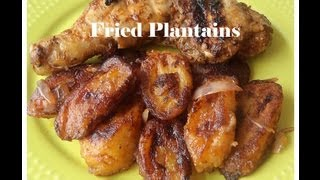 Fried Plantains African Food Recipes