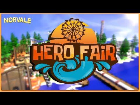 HeroFair [Minecraft Marketplace] A Giant, Working Amusement Park! [Bedrock Edition]