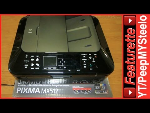 Canon Pixma Printer Model MX512 All in One Wireless Printers w/ AirPrint to Drivers CD & Software