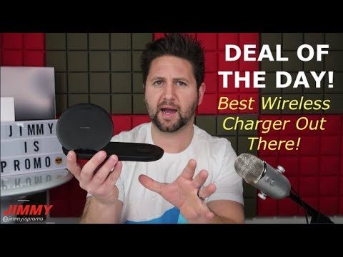 The Best Fast Wireless Charger At The Best Price...RIGHT NOW!!! ($50 NOT $120)