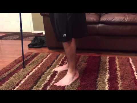 Leg tremors while standing