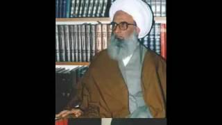 AYATOLLAH E UZAMA BASHIR NAJAFI WAS AND IS AN AZADAR OF QAMMA MATAM AND ZANJEER KA MATAM