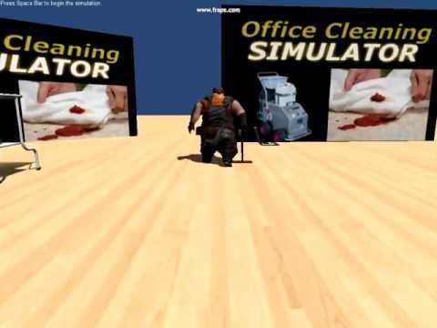 Office Cleaning Simulator 2012 - Gameplay video 1