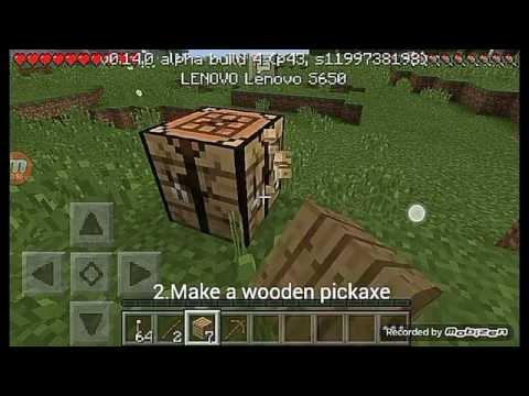 How to make Iron Ingot in Minecraft Pocket Edition(Basic)
