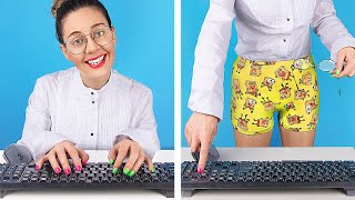 Office Job vs Freelancing / Funny Situations You Can Relate To