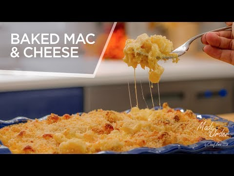 Baked Mac and Cheese | Ultimate Mac & Cheese Recipe | Made To Order | Chef Zee Cooks