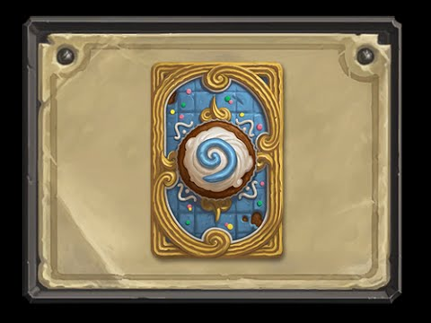 Hearthstone - Getting the April 2015 Cupcake Card Back