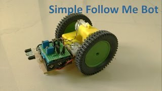 How to make a robot which can follow an object