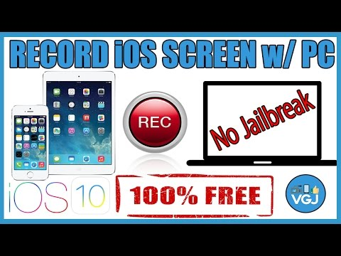 How to Record Your iPhone and iPad Screen on a PC for Free without Jailbreak