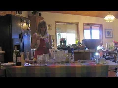 Cooking Class Lavendar Wine Spritzer