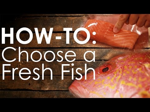 How-to Choose Fresh Fish