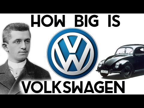 How BIG is Volkswagen? (They own Lamborghini, Bentley, Bugatti, Porsche..)