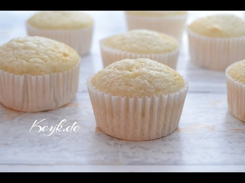 White and light Cupcakes - Muffins without butter