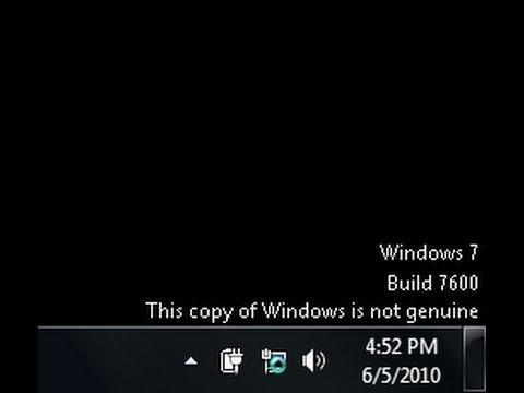 How To Fix Windows 7 Not Genuine Problem [NO SOFTWARE ]